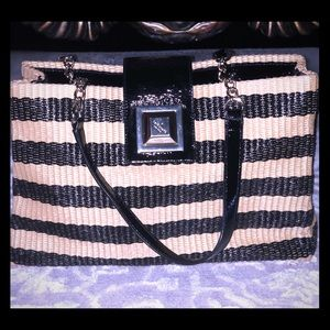 Beautiful one of a kind Straw Kate Spade Handbag